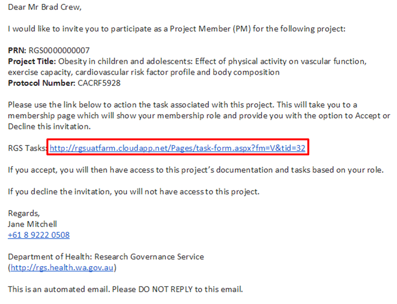 Accept or decline a project invitation accept invite emailg stopboris Gallery